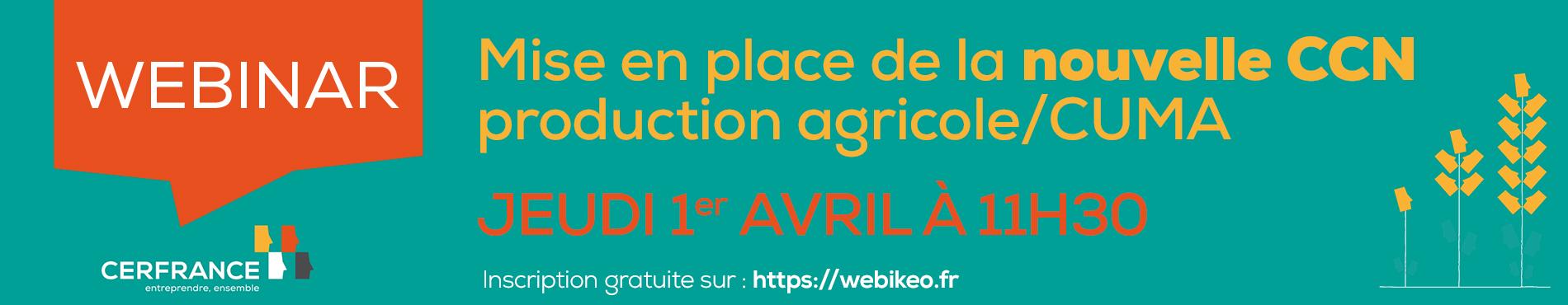 Avril 2021 : nouvelle CCN agricole